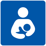 icon for woman breastfeeding