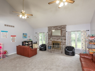 Fairport NY Care A Lot Child Care- Living Room