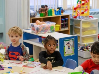 preschool room north greece