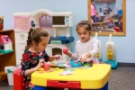 preschool room pretend play
