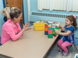 Preschool room in North Greeece
