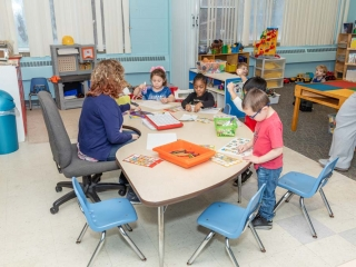 North Greece Preschool Room